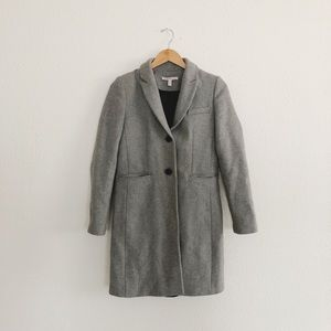 Zara trf outerwear peacoat